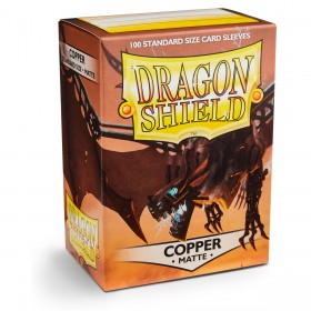 Dragon Shield Matte - Kupfer (100 Hüllen)