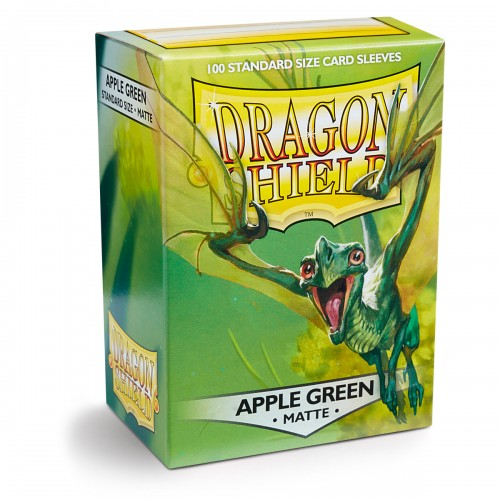 Dragon Shield Matte - Apfelgrün (100 Hüllen)