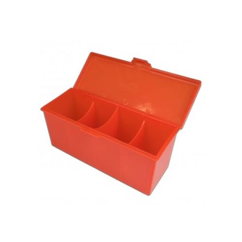 Blackfire 4-Compartment Storage Box – Rot