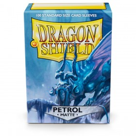 Dragon Shield Matte - Petrolblau (100 Hüllen)